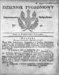 Dziennik Tygodniowy Departamentu Bydgoskiego 1814.10.18 nr 42