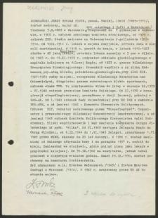 Życiorys Jerzego Bohdana Piotra Dobrzańskiego, ps. Maciej, Irwid