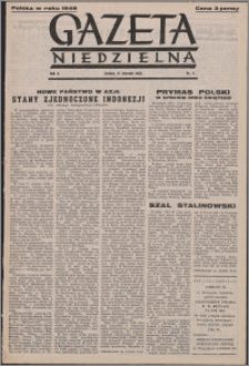 Gazeta Niedzielna 1950.01.15, R. 2 nr 3