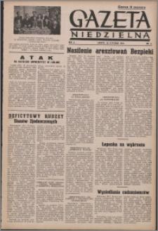 Gazeta Niedzielna 1950.01.29, R. 2 nr 5