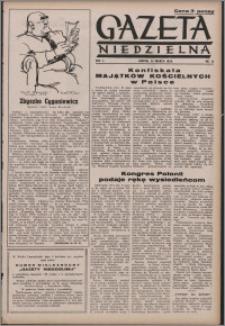 Gazeta Niedzielna 1950.03.26, R. 2 nr 13