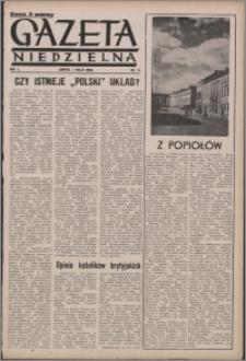 Gazeta Niedzielna 1950.05.07, R. 2 nr 19