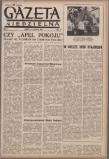 Gazeta Niedzielna 1950.06.25, R. 2 nr 26