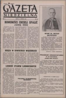 Gazeta Niedzielna 1950.08.13, R. 2 nr 33