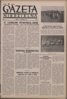Gazeta Niedzielna 1950.09.17, R. 2 nr 38