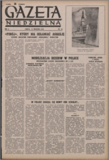 Gazeta Niedzielna 1950.09.24, R. 2 nr 39