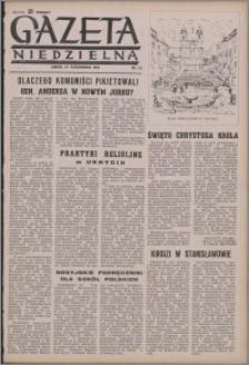 Gazeta Niedzielna 1950.10.22, R. 2 nr 43