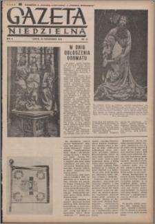 Gazeta Niedzielna 1950.10.29, R. 2 nr 44