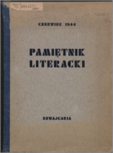 Pamiętnik Literacki 1944