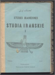 Studia Irańskie 1943, 1