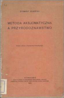 Metoda aksjomatyczna a przyrodoznawstwo