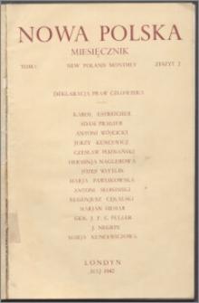 Nowa Polska = New Poland Monthly 1942, T. 1 z. 2