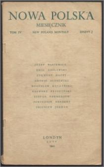 Nowa Polska = New Poland Monthly 1945, T. 4 z. 2