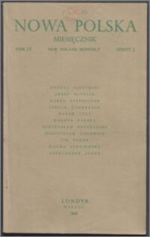 Nowa Polska = New Poland Monthly 1945, T. 4 z. 3