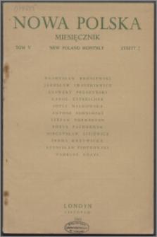 Nowa Polska = New Poland Monthly 1945, T. 5 z. 2