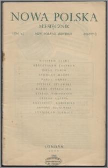 Nowa Polska = New Poland Monthly 1946, T. 6 z. 2