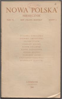 Nowa Polska = New Poland Monthly 1946, T. 6 z. 4