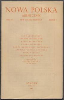 Nowa Polska = New Poland Monthly 1946, T. 6 z. 7