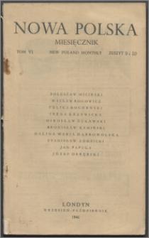 Nowa Polska = New Poland Monthly 1946, T. 6 z. 9/10