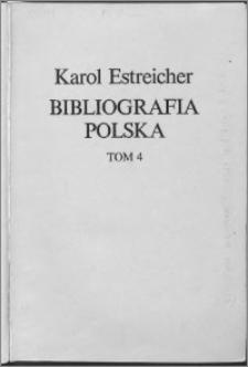 Bibliografia polska XIX. stólecia [!]. T. 4, R-U
