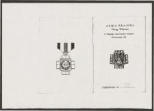 Legitymacja Armii Krajowej Okręgu Wileńskiego 6 Wileńska Samodzielna Brygada Partyzancka AK