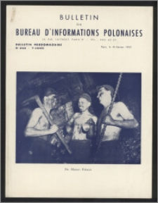 Bulletin du Bureau d'Informations Polonaises : bulletin hebdomadaire 1953.02.16, An. 9 no 242