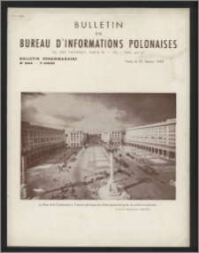Bulletin du Bureau d'Informations Polonaises : bulletin hebdomadaire 1953.02.23, An. 9 no 243