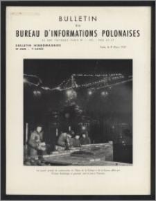 Bulletin du Bureau d'Informations Polonaises : bulletin hebdomadaire 1953.03.09, An. 9 no 245