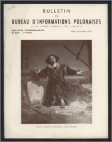 Bulletin du Bureau d'Informations Polonaises : bulletin hebdomadaire 1953.03.23, An. 9 no 247