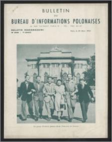 Bulletin du Bureau d'Informations Polonaises : bulletin hebdomadaire 1953.03.30, An. 9 no 248