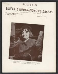 Bulletin du Bureau d'Informations Polonaises : bulletin hebdomadaire 1953.04.27, An. 9 no 252