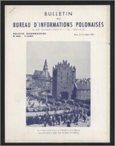 Bulletin du Bureau d'Informations Polonaises : bulletin hebdomadaire 1953.07.13, An. 9 no 263