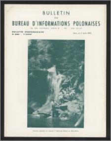 Bulletin du Bureau d'Informations Polonaises : bulletin hebdomadaire 1953.08.03, An. 9 no 266