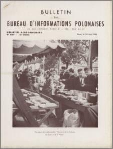 Bulletin du Bureau d'Informations Polonaises : bulletin hebdomadaire 1955.05.28, An. 10 no 337