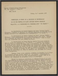 Bulletin du Bureau d'Informations Polonaises : bulletin hebdomadaire 1957.10.07, An. 12- dod. (3)