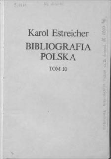 Bibliografia polska. Cz. 2, Stólecie [!] XV-XIX: spis chronologiczny. T. 3 (10), Spis chronologiczny 1800-1870