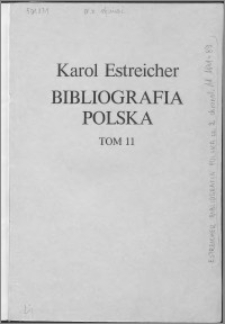 Bibliografia polska. Cz. 2, Stólecie [!] XV-XIX: spis chronologiczny. T. 3 (11), Spis chronologiczny 1871-1889