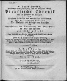 M. Lucas David's Hof-Gerichts-Raths zu Königsberg unter dem Marggrafen Albrecht, Preussische Chronik