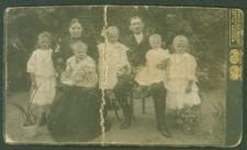 Hieronim Weyna z rodziną