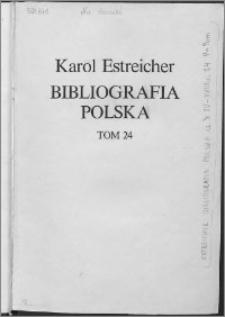 Bibliografia polska. Cz. 3, Stólecie [!] XV-XVIII w układzie abecadłowym. T. 13 (24), P-Pom