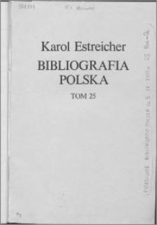 Bibliografia polska. Cz. 3, Stólecie [!] XV-XVIII w układzie abecadłowym. T. 14 (25), Pon-Q