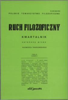 Ruch Filozoficzny 2002, T. 59 nr 2