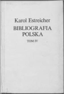 Bibliografia polska. Cz. 4, Bibliografia polska XIX. stólecia [!] : lata 1881-1900. T. 4, R-Z