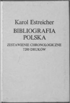 Bibliografia polska XV.-XVI. stólecia [!]