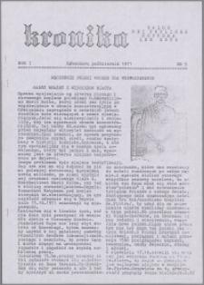 Kronika 1971, R. 1 nr 9