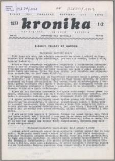 Kronika Poświęcona Sprawom Polskim 1977, R. 7 nr 1/2 (71/72)