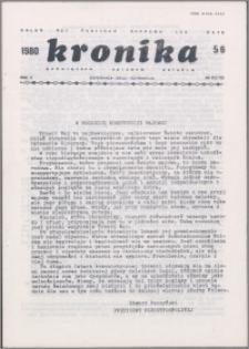 Kronika Poświęcona Sprawom Polskim 1980, R. 10 nr 5/6 (111/112)