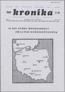 Kronika Poświęcona Sprawom Polskim 1980, R. 10 nr 9/10 (115/116)