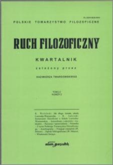 Ruch Filozoficzny 1998, T. 55 nr 2