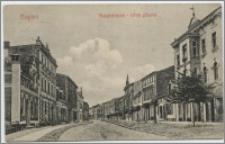 Mogilno, Hauptstrasse - Ulica główna